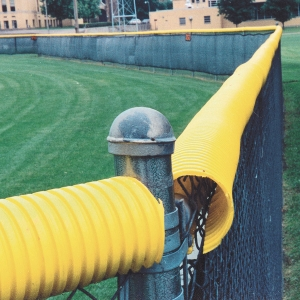 Yellow Corrugated Pipe for Fence